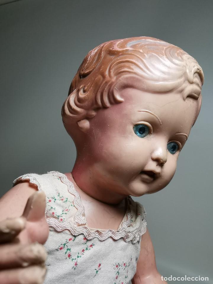 Muñecas Extranjeras: antigua muñeca de plastico años 50 marca kader made in hong kong--32 cm -muy jugada - Foto 12 - 193741127