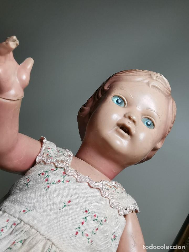 Muñecas Extranjeras: antigua muñeca de plastico años 50 marca kader made in hong kong--32 cm -muy jugada - Foto 13 - 193741127