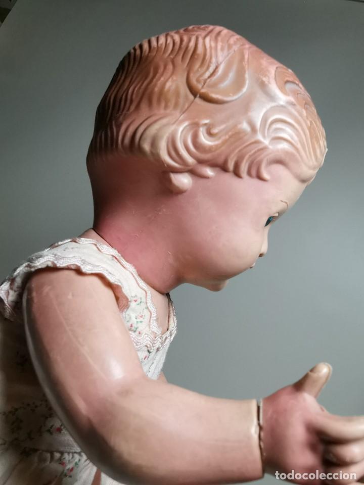 Muñecas Extranjeras: antigua muñeca de plastico años 50 marca kader made in hong kong--32 cm -muy jugada - Foto 14 - 193741127