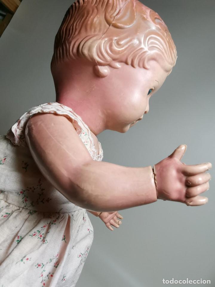 Muñecas Extranjeras: antigua muñeca de plastico años 50 marca kader made in hong kong--32 cm -muy jugada - Foto 15 - 193741127