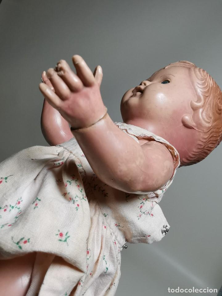 Muñecas Extranjeras: antigua muñeca de plastico años 50 marca kader made in hong kong--32 cm -muy jugada - Foto 16 - 193741127