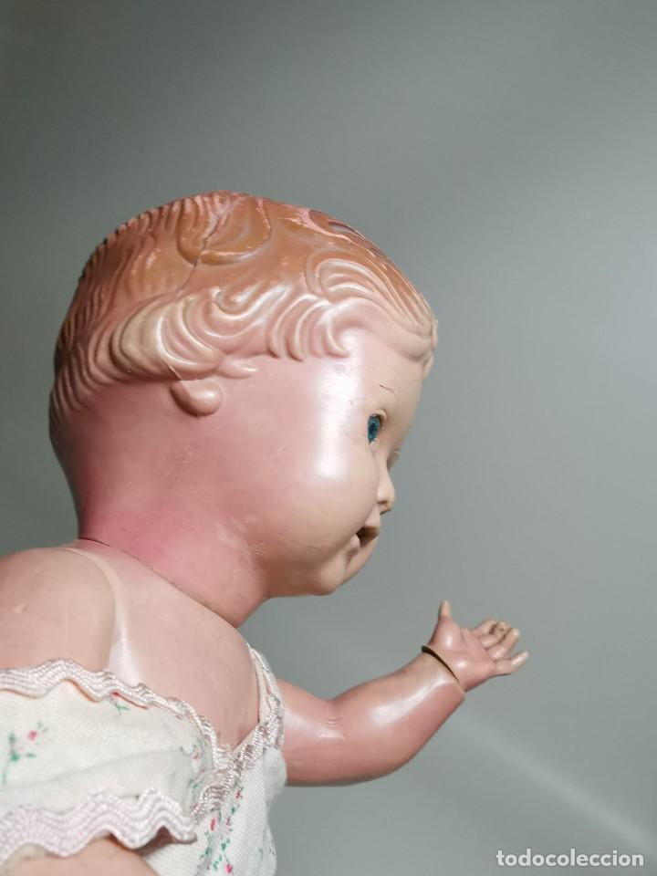 Muñecas Extranjeras: antigua muñeca de plastico años 50 marca kader made in hong kong--32 cm -muy jugada - Foto 32 - 193741127