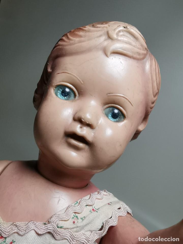 Muñecas Extranjeras: antigua muñeca de plastico años 50 marca kader made in hong kong--32 cm -muy jugada - Foto 33 - 193741127