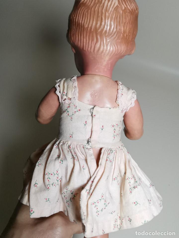 Muñecas Extranjeras: antigua muñeca de plastico años 50 marca kader made in hong kong--32 cm -muy jugada - Foto 34 - 193741127