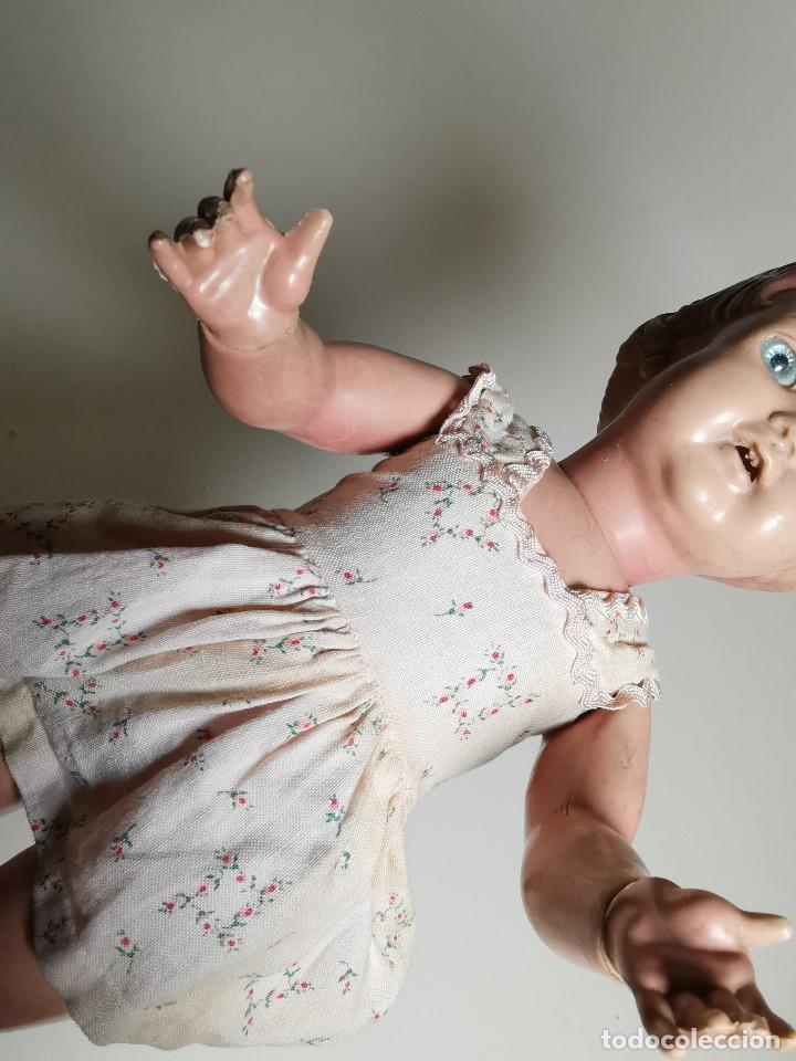 Muñecas Extranjeras: antigua muñeca de plastico años 50 marca kader made in hong kong--32 cm -muy jugada - Foto 36 - 193741127