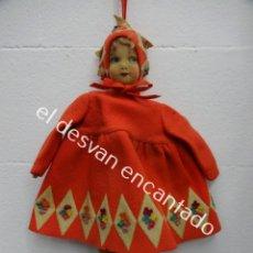 Muñecas Extranjeras: ANTIGUA MUÑECA LENCI??. MUY BONITA. ORIGINAL AÑOS 1920S. 42 CTMS.. Lote 193919746
