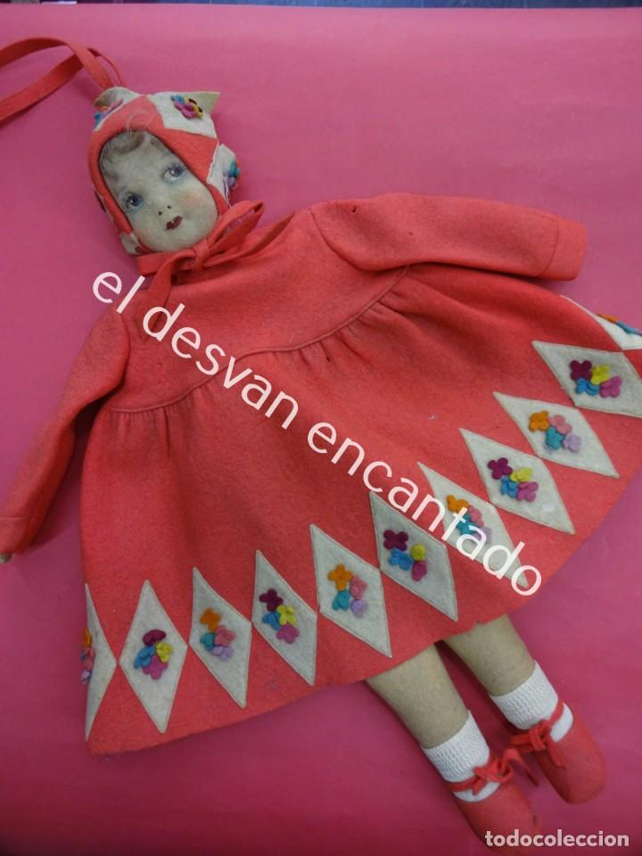 Muñecas Extranjeras: Antigua muñeca LENCI??. Muy bonita. Original años 1920s. 42 ctms. - Foto 2 - 193919746