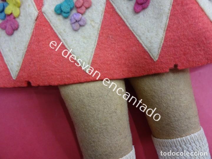 Muñecas Extranjeras: Antigua muñeca LENCI??. Muy bonita. Original años 1920s. 42 ctms. - Foto 4 - 193919746