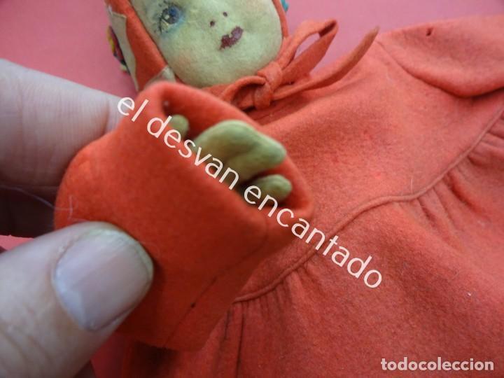 Muñecas Extranjeras: Antigua muñeca LENCI??. Muy bonita. Original años 1920s. 42 ctms. - Foto 6 - 193919746