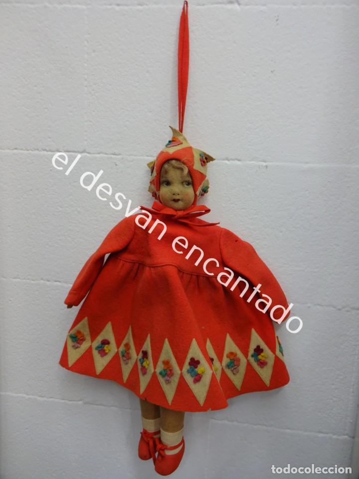 Muñecas Extranjeras: Antigua muñeca LENCI??. Muy bonita. Original años 1920s. 42 ctms. - Foto 15 - 193919746