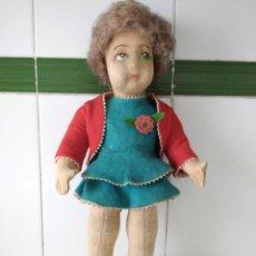 Muñecas Extranjeras: ANTIGUA MUÑECA LENCI AÑOS 20 CON SU ROPA ORIGINAL. Lote 194308215