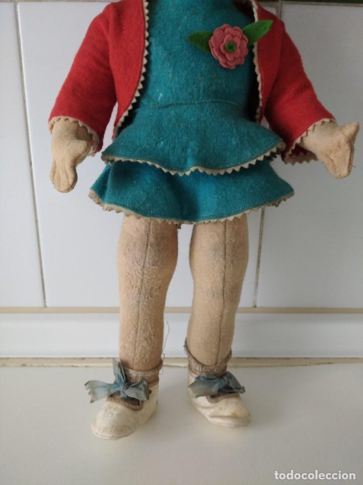 Muñecas Extranjeras: Antigua muñeca Lenci años 20 con su ropa original - Foto 3 - 194308215