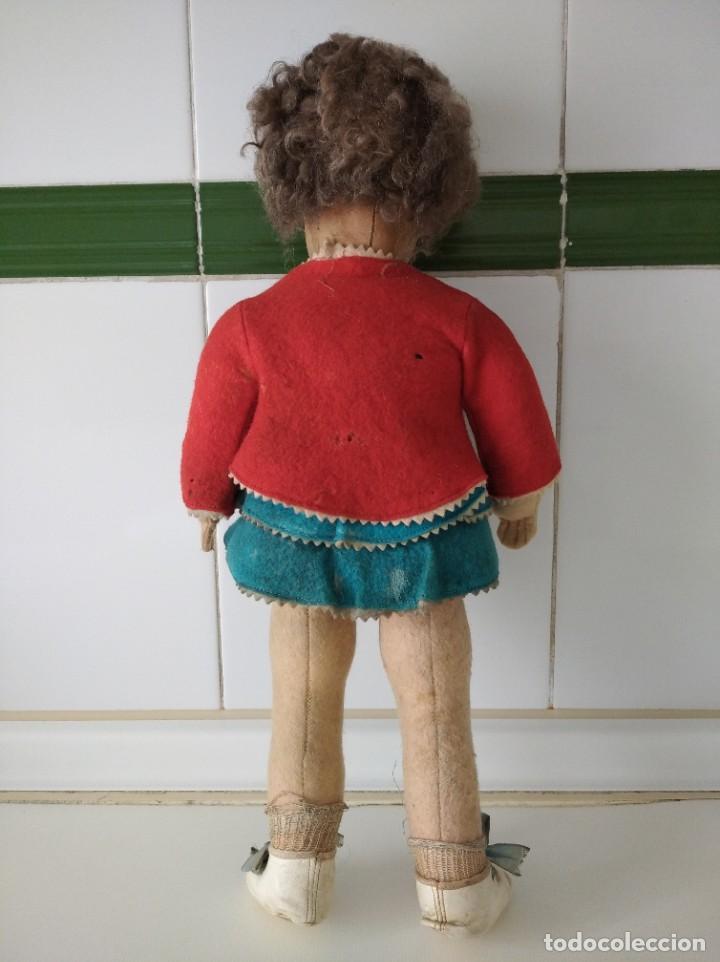 Muñecas Extranjeras: Antigua muñeca Lenci años 20 con su ropa original - Foto 4 - 194308215