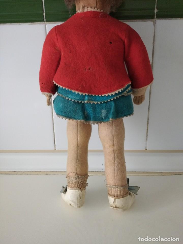 Muñecas Extranjeras: Antigua muñeca Lenci años 20 con su ropa original - Foto 5 - 194308215