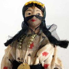 Muñecas Extranjeras: MUÑECA EGIPCIA DE TELA 20CM.. Lote 194361346
