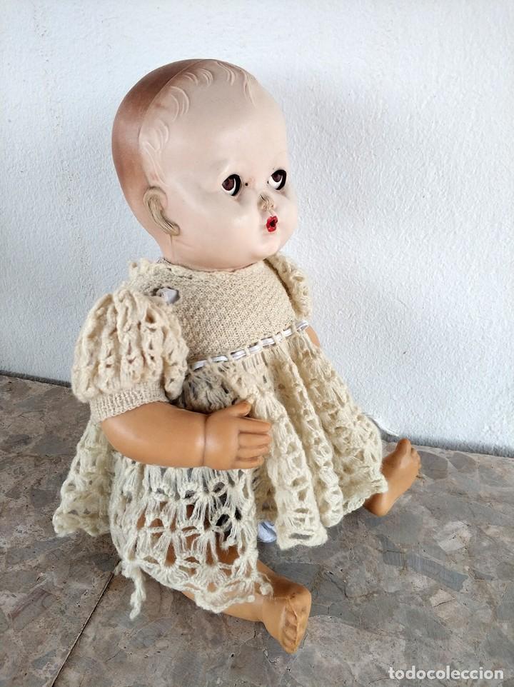 Muñecas Extranjeras: Muñeco con cuerpo de goma y cabeza de plastico duro. ingles brit pat 600270 austral 135724 - Foto 2 - 194489900