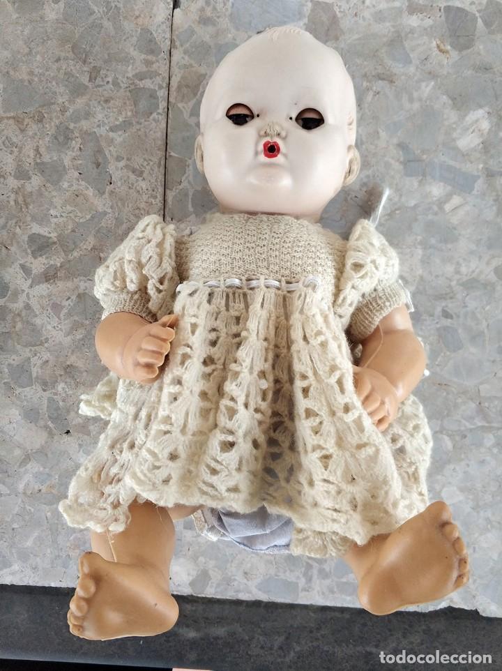 Muñecas Extranjeras: Muñeco con cuerpo de goma y cabeza de plastico duro. ingles brit pat 600270 austral 135724 - Foto 4 - 194489900