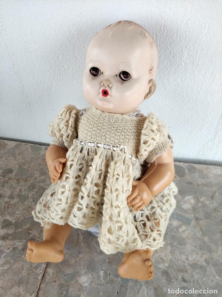 Muñecas Extranjeras: Muñeco con cuerpo de goma y cabeza de plastico duro. ingles brit pat 600270 austral 135724 - Foto 5 - 194489900