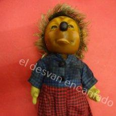 Muñecas Extranjeras: ANTIGUO ERIZO MUJER DE LA MARCA STEIFF. ORIGINAL AÑOS 50S. MED: 18 CTMS. Lote 194598503