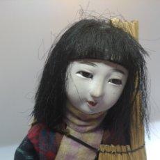 Muñecas Extranjeras: MUÑECA JAPONESA. MUJER DE LAS NIEVES YUKI NO INNA.. Lote 195153742