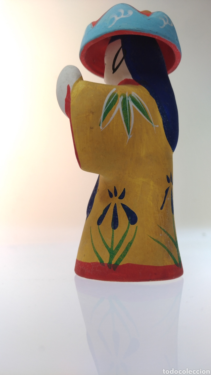 Muñecas Extranjeras: Figurita tradicional japonesa de Okinawa Ryukyu Kyoudogangu - Foto 4 - 195154483