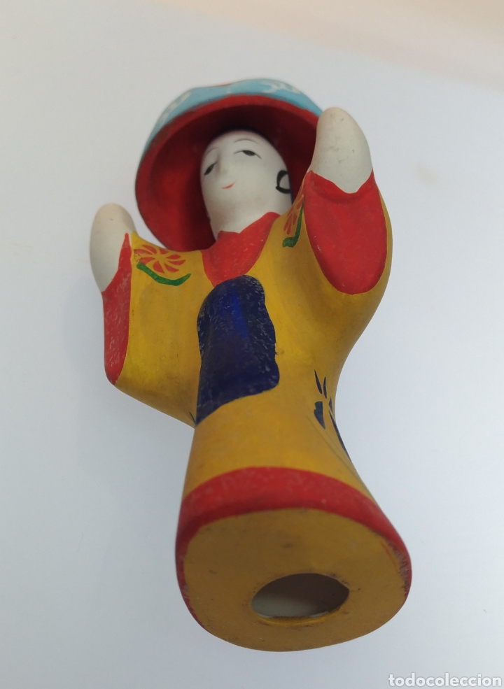 Muñecas Extranjeras: Figurita tradicional japonesa de Okinawa Ryukyu Kyoudogangu - Foto 5 - 195154483