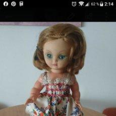 Muñecas Extranjeras: MUÑECA ANTIGUA AÑOS 50/60. Lote 195345125