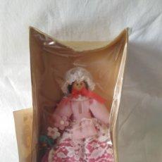 Muñecas Extranjeras: BONITA MUÑECA CON VESTIDO ROSA.. Lote 197330383