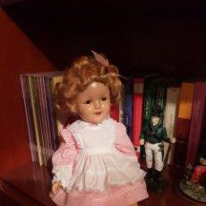 Muñecas Extranjeras: MUÑECA COMPOSICIÓN AÑOS 30 SHIRLEY TEMPLE. Lote 204213037