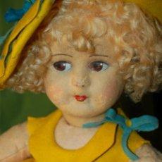 Muñecas Extranjeras: MUÑECA LENCI AÑOS 20. Lote 204339937