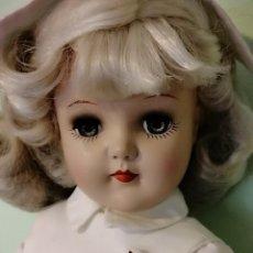 Muñecas Extranjeras: ANTIGUA MUÑECA ENFERMERA AMERICANA AÑOS 50 TONY DOLL. Lote 204422405