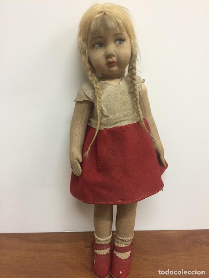 Muñecas Extranjeras: Preciosa muñeca antigua años 20-30. Lenci? Pagés?.... - Foto 2 - 205654276