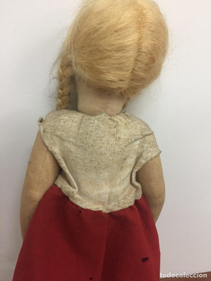 Muñecas Extranjeras: Preciosa muñeca antigua años 20-30. Lenci? Pagés?.... - Foto 6 - 205654276