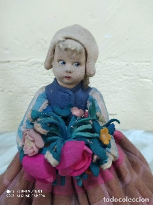 Muñecas Extranjeras: ANTIGUA MUÑECA LENCI DE FIELTRO CON ETIQUETA - Foto 2 - 205677457