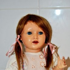 Muñecas Extranjeras: MUÑECA NADINE / RAYNAL 1, FRANCIA 1950´S RHODOÏD - 48 CM. Lote 206321367