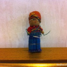 Muñecas Extranjeras: MUÑECA DE TRAPO. ALTURA: 5CM. Lote 207068610