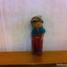Muñecas Extranjeras: MUÑECA DE TRAPO. ALTURA: 5CM. Lote 207068681