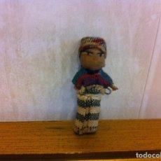 Muñecas Extranjeras: MUÑECA DE TRAPO. ALTURA: 5CM. Lote 207068940