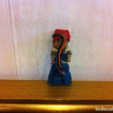 Muñecas Extranjeras: MUÑECA DE TRAPO. ALTURA: 5CM. Lote 207069136