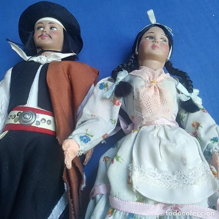 Muñecas Extranjeras: MUÑECO GAUCHO ARGENTINO. Y CHICA. VER FOTOS - Foto 3 - 208913635