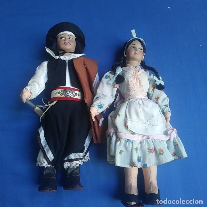 Muñecas Extranjeras: MUÑECO GAUCHO ARGENTINO. Y CHICA. VER FOTOS - Foto 6 - 208913635