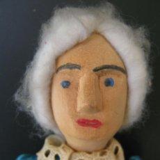 Muñecas Extranjeras: MUÑECA ORIGINAL DE MADERA LADY DOLL DE 35 CM. DECADA 1930. Lote 209806918