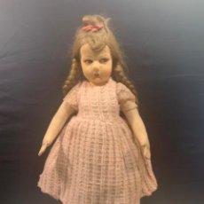 Muñecas Extranjeras: MUÑECA LENCI ??? DE TRAPO CON CARA PINTADA MED.: 53 CMS. (G). Lote 210563555