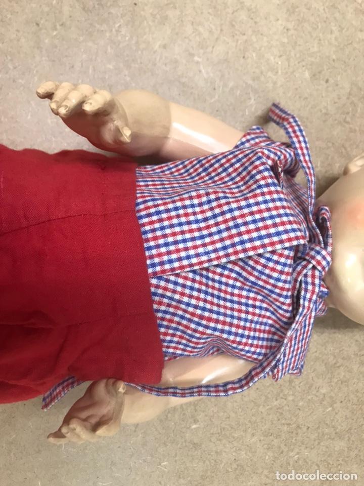 Muñecas Extranjeras: Muñeco antiguo alemán marca TORTUGA n36/41 con ropa - Foto 5 - 210577080