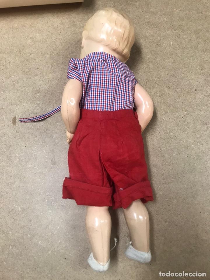 Muñecas Extranjeras: Muñeco antiguo alemán marca TORTUGA n36/41 con ropa - Foto 19 - 210577080