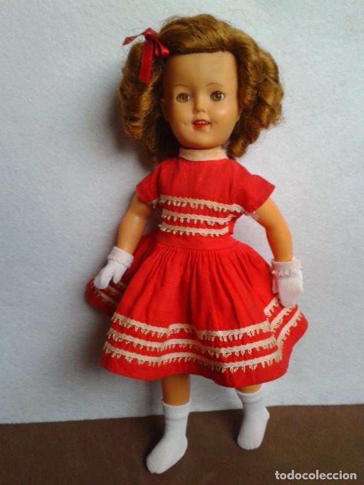 ANTIGUA SHIRLEY TEMPLE IDEAL DOLL 1958 (Juguetes - Muñeca Extranjera Antigua - Otras Muñecas)