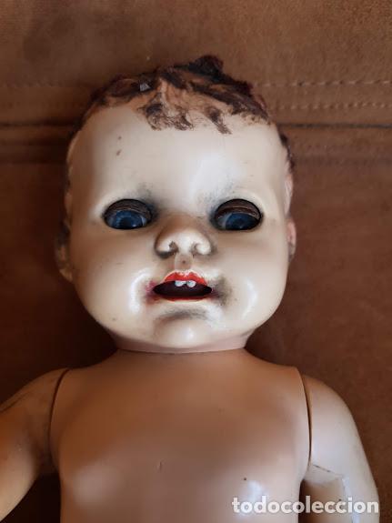 Muñecas Extranjeras: Muñeca inglesa ojos móviles, articulada. 2 dientes - Años 40-45 Completa - Foto 6 - 211926792
