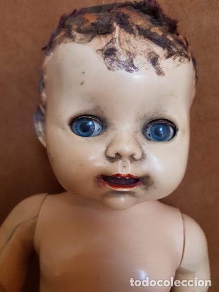 Muñecas Extranjeras: Muñeca inglesa ojos móviles, articulada. 2 dientes - Años 40-45 Completa - Foto 9 - 211926792
