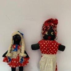 Muñecas Extranjeras: MUÑECAS DE TRAPO AMERICANAS. Lote 162946162