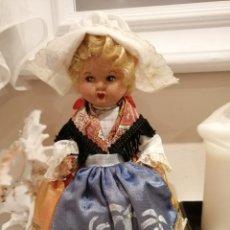 Muñecas Extranjeras: MUÑECA BABY FLEX FRANCESA ETIQUETADA COMPLETAMENTE DE GOMA AÑOS 60. Lote 216738272
